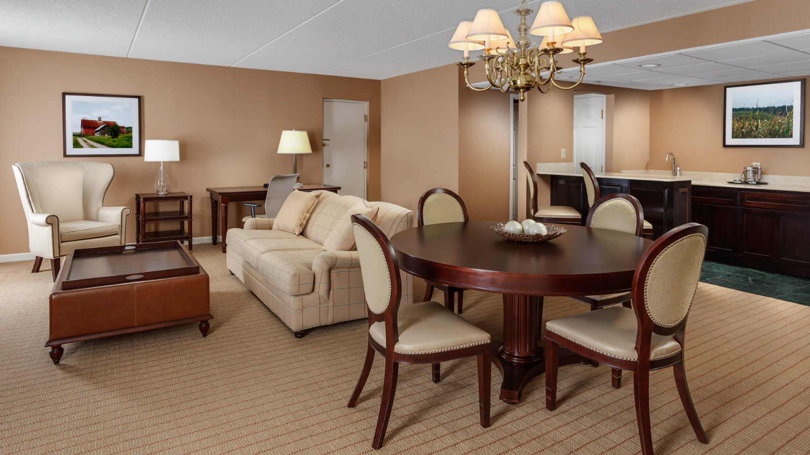Malvern, PA Accommodations - Presidential Suite
